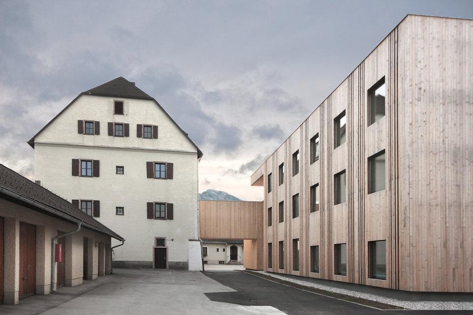 Winklhof Oberalm Holzarchitektur