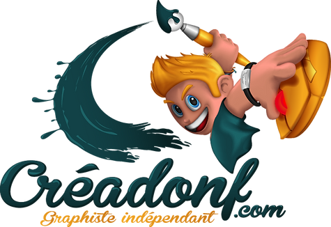 Logo Créadonf Graphiste Belfort Montbéliard