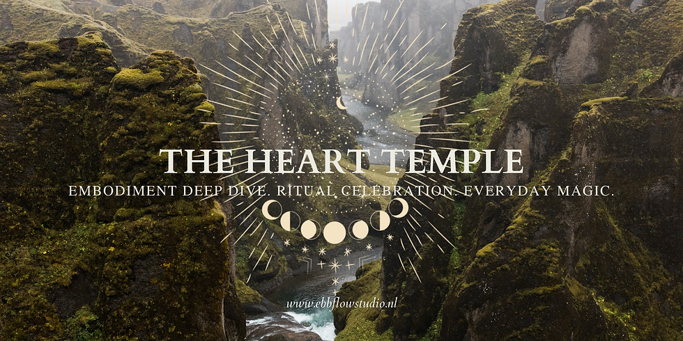 The Heart Temple w/ MUSE: Lion's Gate x Cacao Circle
