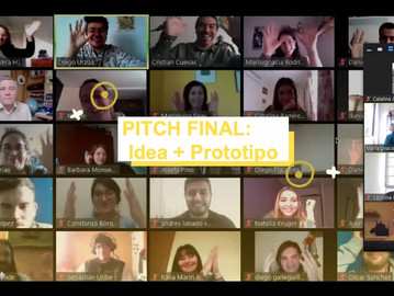 Exitosa jornada remota de videos Pitch marcó el final del primer semestre del Programa de Innovación