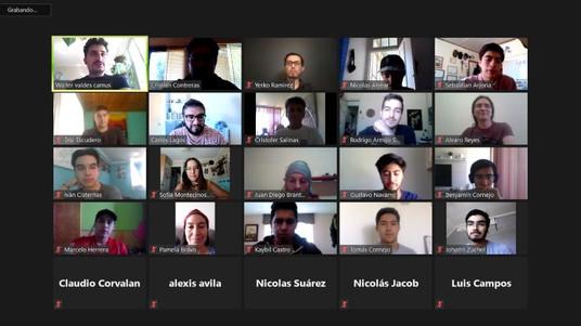 Exitoso Bootcamp sobre Economía Digital reunió a estudiantes de las tres facultades