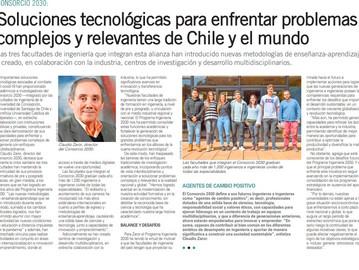 Soluciones tecnológicas para enfrentar problemas complejos y relevantes de Chile y el mundo