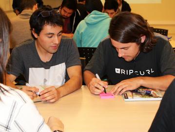 Estudiantes de la FIN-PUCV aprenden conceptos y metodologías relacionadas con el emprendimiento y la