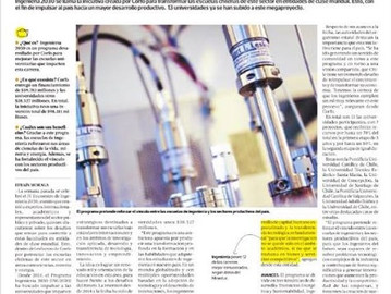 Destacada publicación del Consorcio 2030 en diario El Pulso
