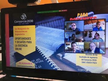 """Jornada final del simposio 2020 """"Oportunidades y Desafíos para la Docencia Online"""""""