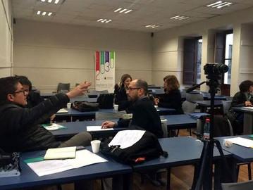 Profesionales del Proyecto Ingeniería 2030 de la FIN-PUCV realizan taller de Flipped Classroom en Un