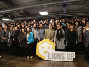 Lions UP cerró su programa formativo de innovación abierta