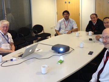 Visita a la Universidad de Sheffield potencia futura alianza estratégica