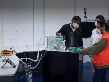 Dispositivo de Ventilación Mecánica UdeC- Asmar recibe aprobación técnica