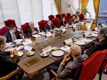 Rectores de la UdeC, USACH y PUCV se reúnen en cita anual del Consorcio 2030