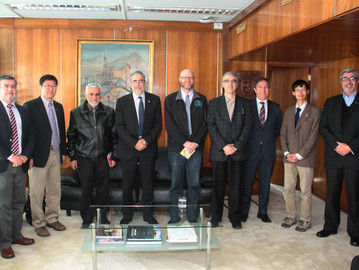 Decanos de universidades canadienses visitan U. de Santiago por proyecto Nueva Ingeniería 2030