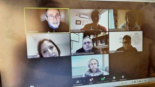 Experiencia acreditación ABET reunió a académicos de las tres facultades