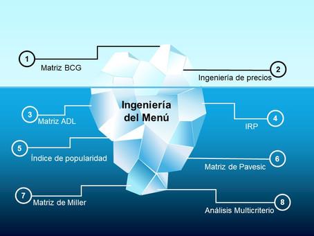 Situación actual de la Ingeniería del Menú