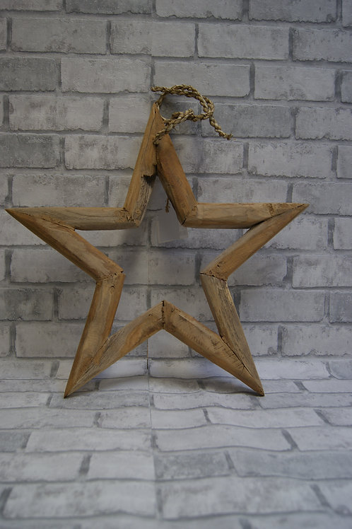 Kerstster hout small