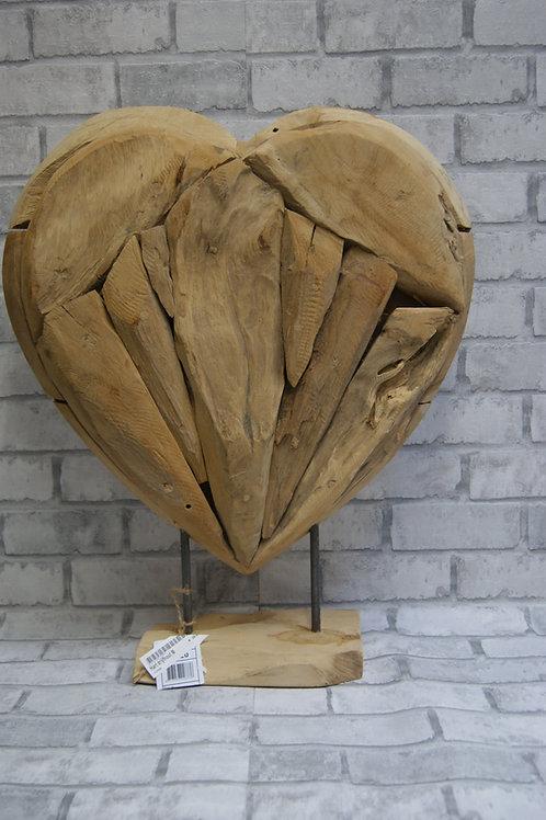 Drijfhouten hart