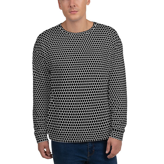 Unisex All Over Logo Sweatshirt