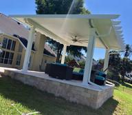 Cesar - Fixed Roof Pergola with Traverti