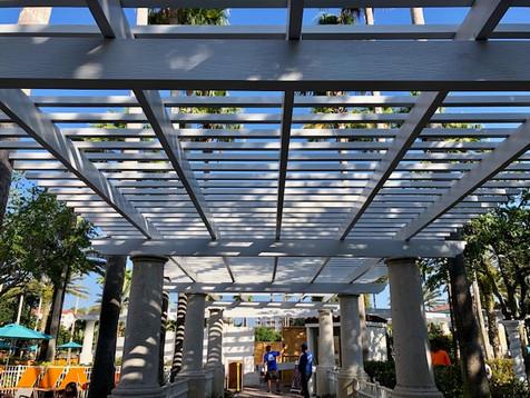 Marriott - Open Lattice Aluminum Pergola