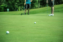 Golf spielen