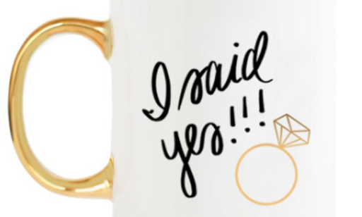 I Said Yes!!! Coffee Mug
