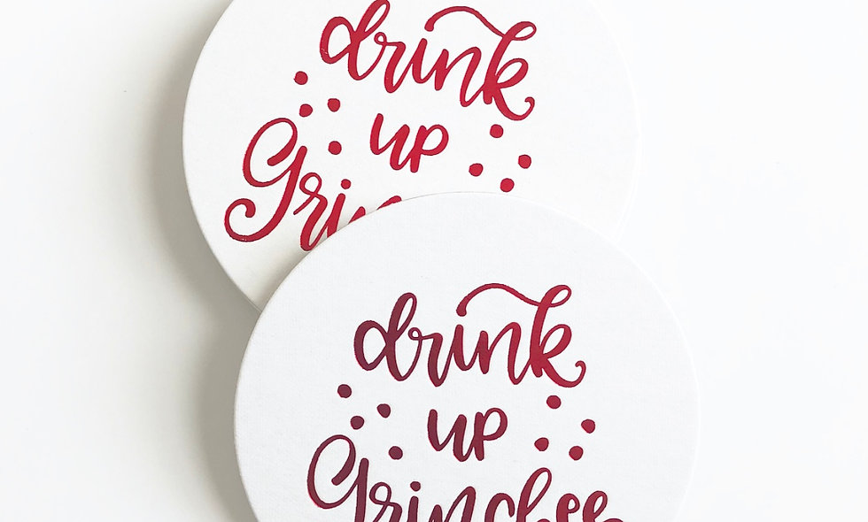 Drink Up Grinches!