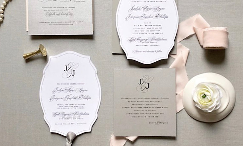 Jailyn Invitation Suite