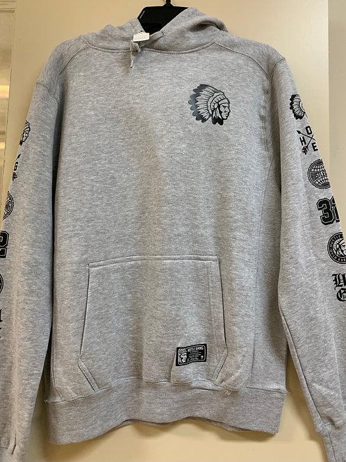 Hustle Gang/Grey Hoodie