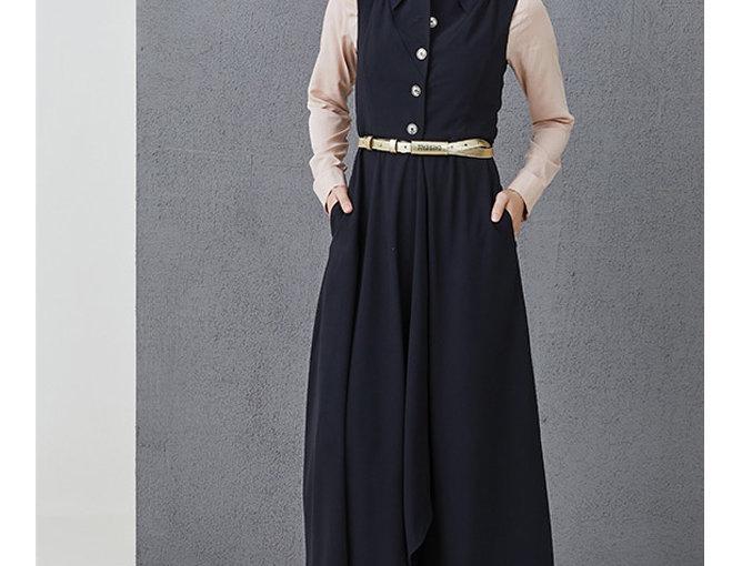 Sleeveless dress ROSIE black