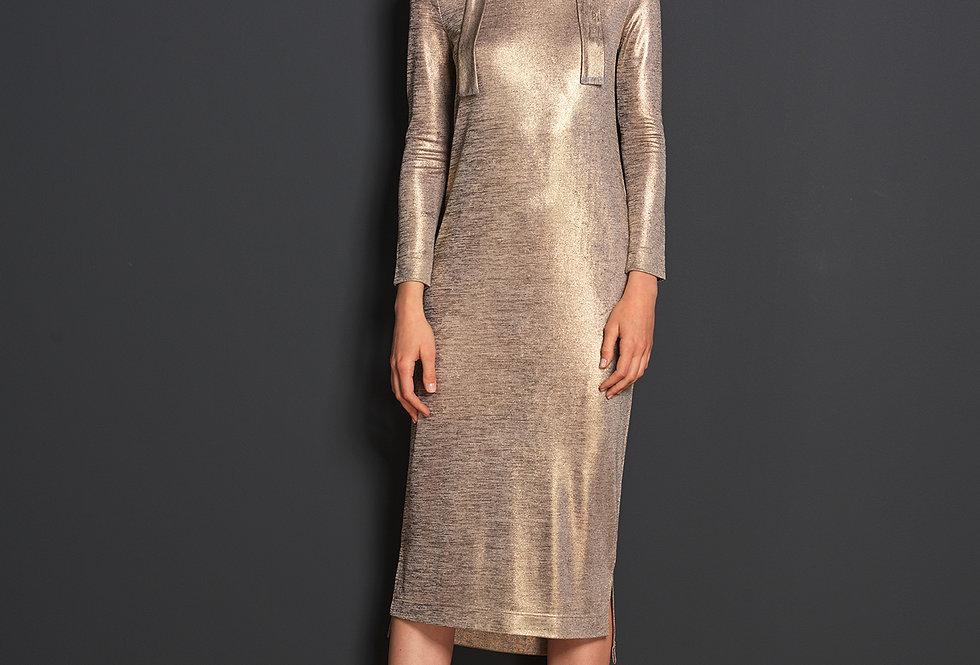 Lurex Kleid SERAFIN