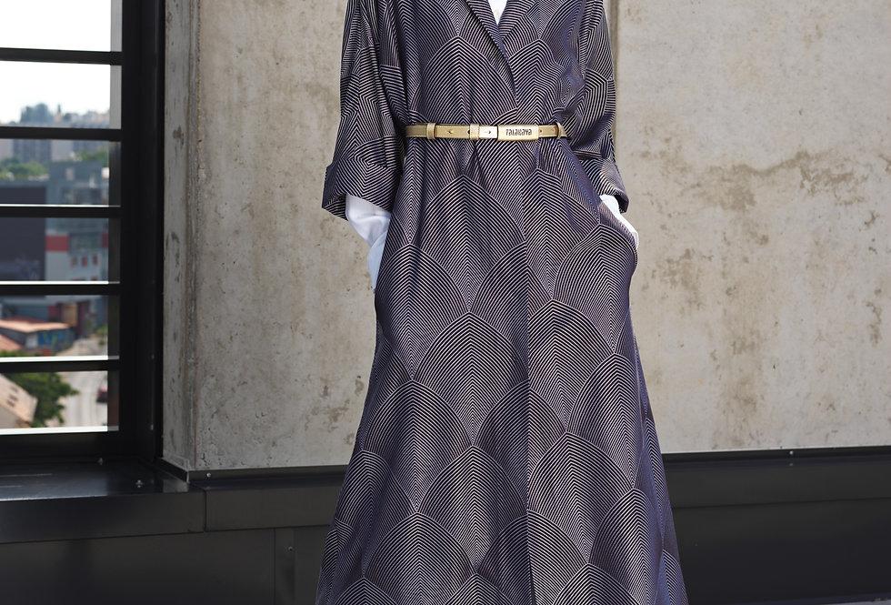 Kabát z brokátu DAHLIA