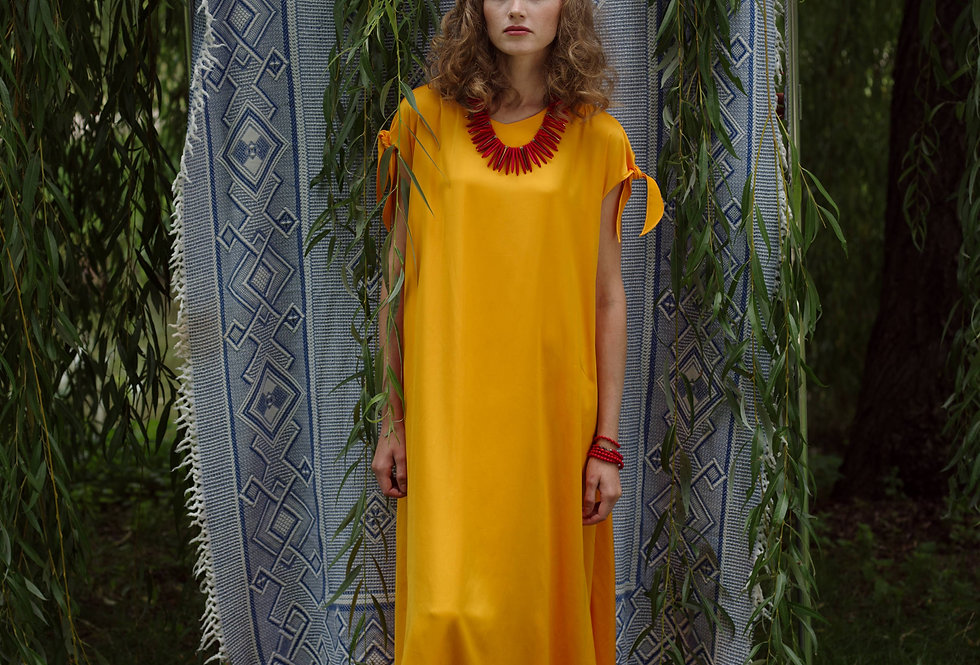 Maxi dress LIANA yellow