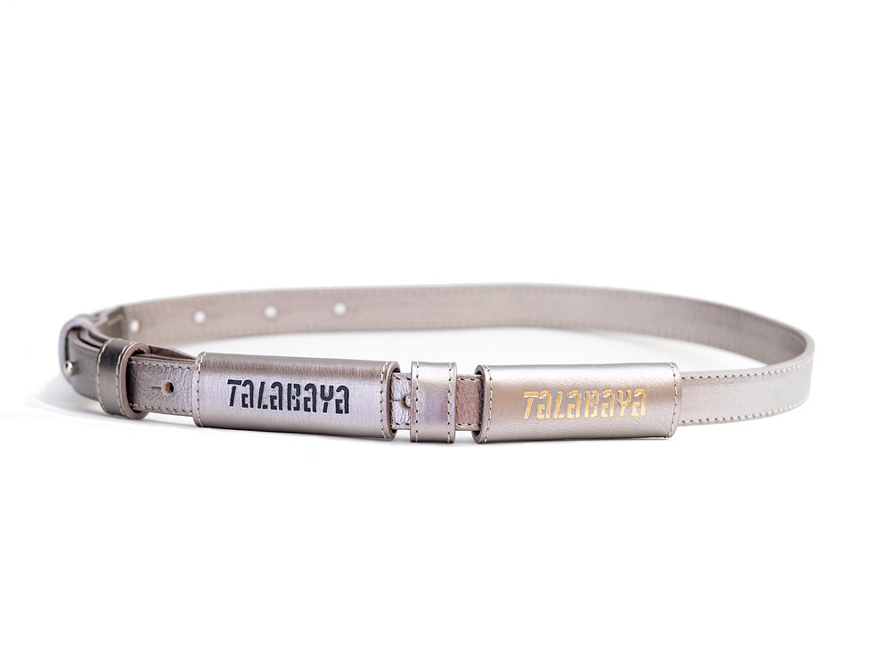 Belt TALABAYA silver
