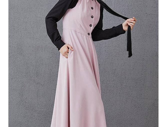 Sleeveless dress ROSIE pink