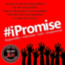 iPromise - Instagram Images (Red Backgro