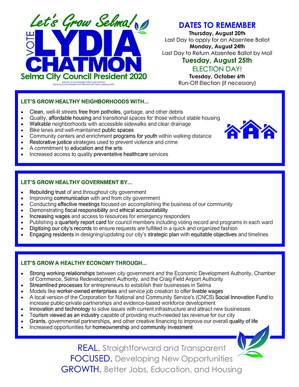 CHATMON 2020 - Platform Issues and Ideas