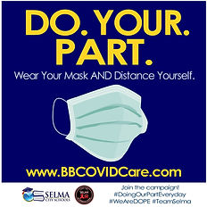 Selma AIR - Do Your Part - Wear Mask AND
