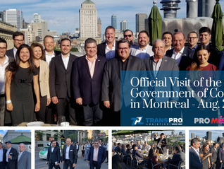 Coahuila Government visit to Montreal.