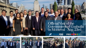 Trans-Pro Logistics was privileged to host this delegation in the Old Montreal.
