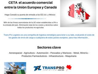 CETA,  acceso a un mercado único de 28 países y más de 500 millones de clientes potenciales
