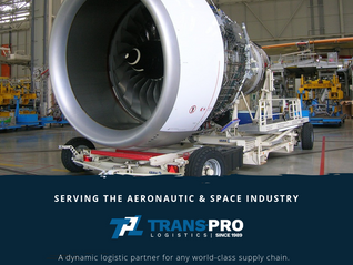Logistic solutions adapted to the Aeronautic & Aerospace industry.