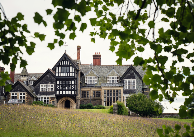 Plas Dinam Country House in Powys, Mid Wales