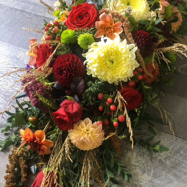 Funeral flowers by Emma Jane Floral Design