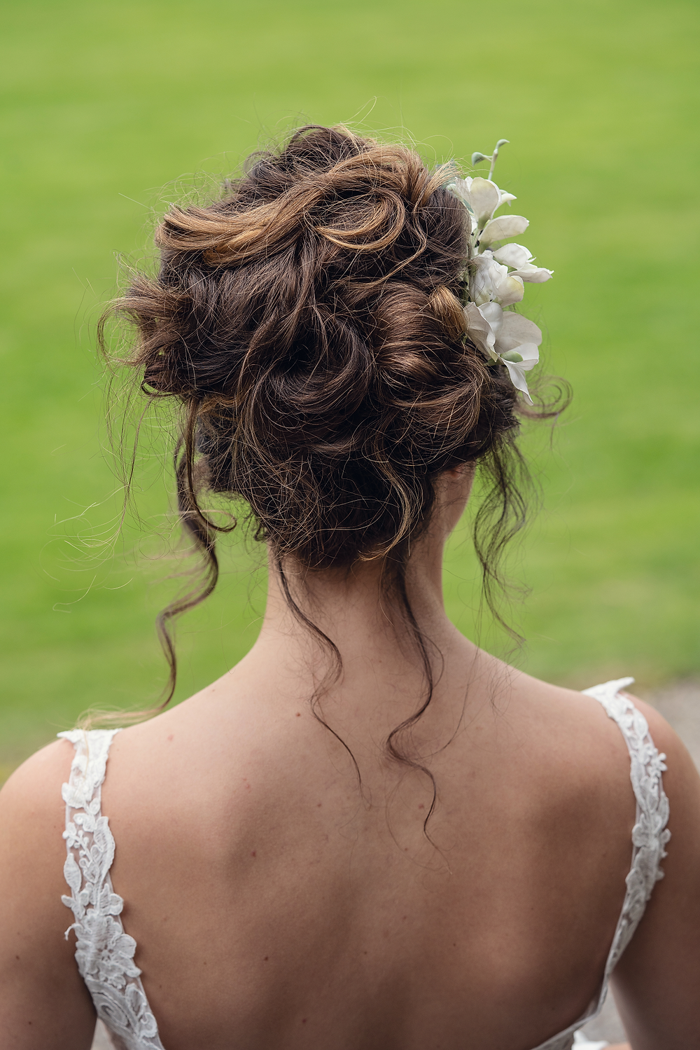 bridal up hair