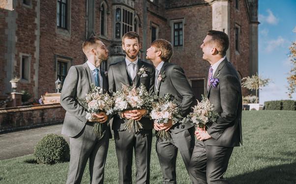 Bridal party bouquets by Emma Jane Floral Design