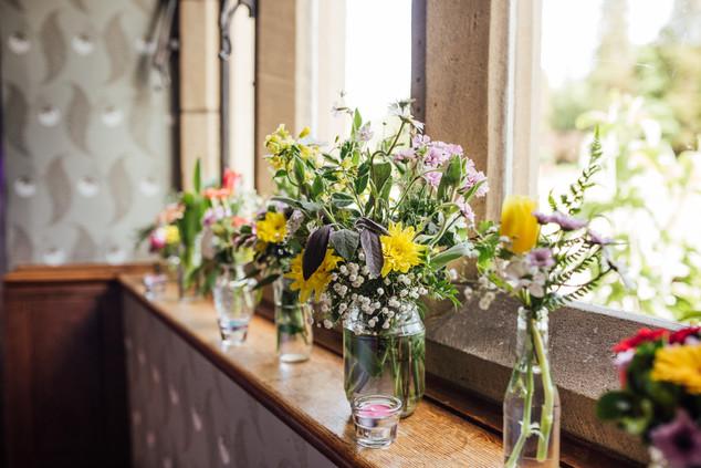 Festival wedding flowers by Emma Jane Floral Design