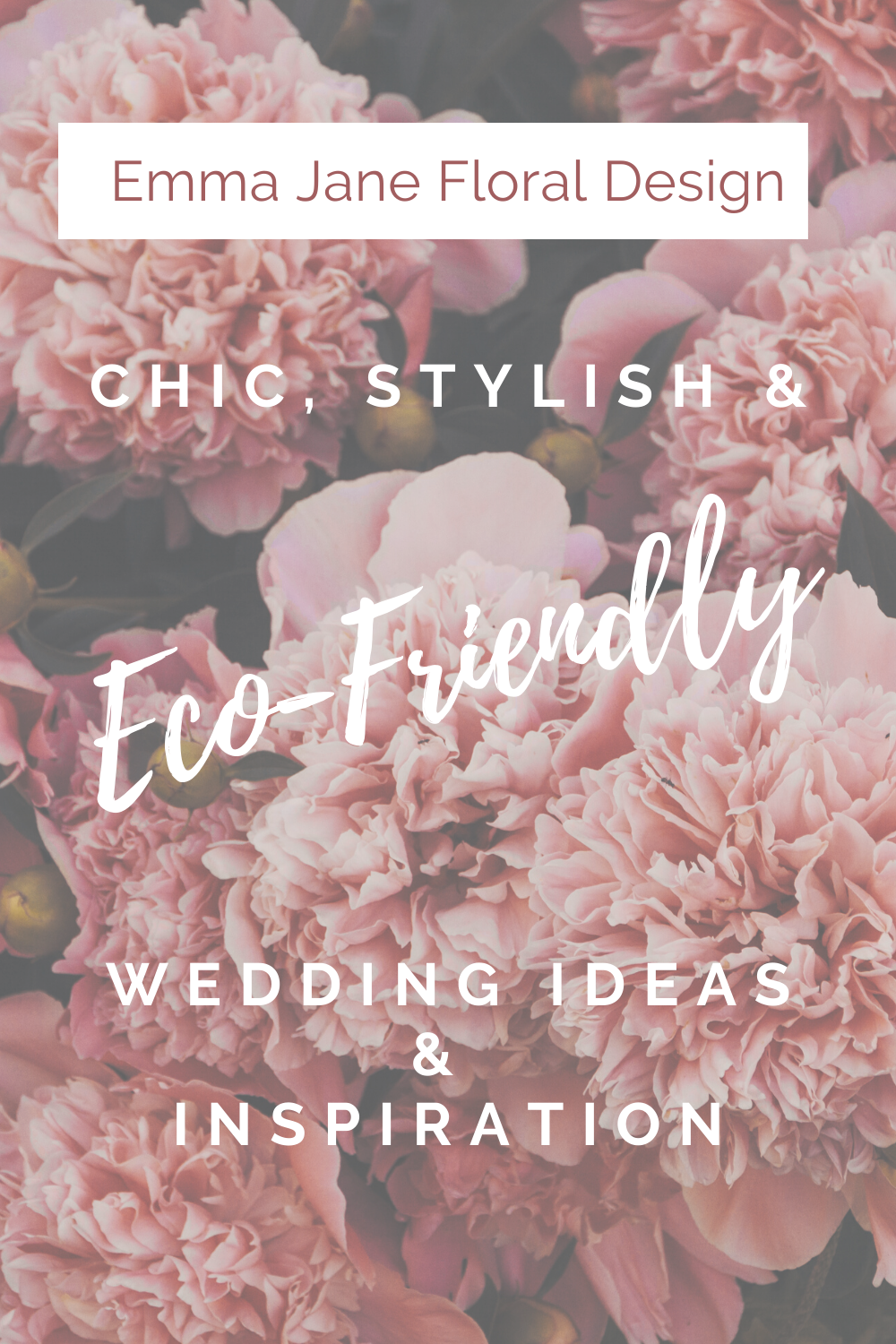 Chic, Stylish And Eco Friendly Wedding Ideas And Inspiration by Emma Jane Floral Design