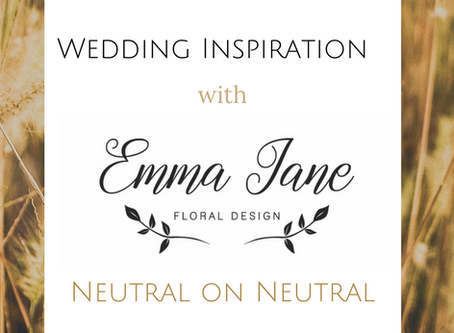 Mid Week Wedding Inspiration - Neutral on neutral