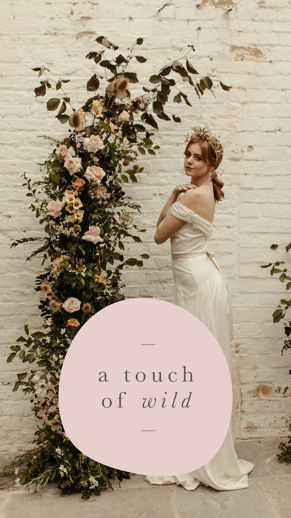 Emma Jane Floral Design Logo A Touch Of Wild