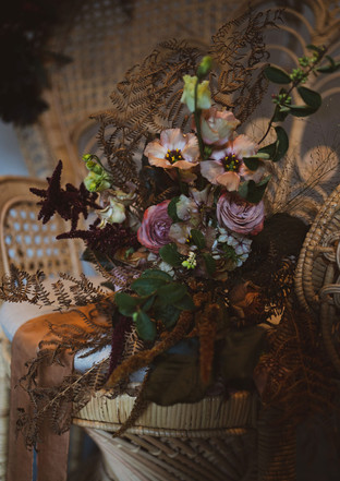 Beautifully wild bridal bouquet by Emma Jane Floral Design