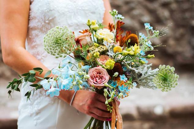 Romantic bridal bouquets by Emma Jane Floral Design